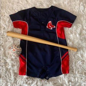 ⚾️ Red Sox romper!! 🌆